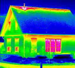 Building heat map